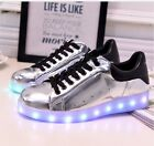"Women""s USB LED Light Up Luminous Shoes Sportswear Casual Dance Sneakers"
