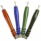 6 Inch Anodized Aluminum Draft keg Beer Tap Handle Choice of Four Colors
