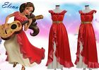Elena of Avalor Elena Princess Dress Cosplay Costume Womens Party Dress Costume