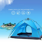 Hi-Q Double-layer Outdoor Large 3-6 Person Hiking Camping Family Automatic Tent
