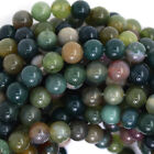 "Indian Agate Round Beads Gemstone 15.5"" Strand 4mm 6mm 8mm 10mm 12mm"