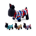 PETCIRCLE Design-New Cute Handsome Color Plaid Velvet Shirt Clothes for Dog