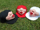 Cute New Style Toot Mouth Kiss Large Face Boys&Girls Three-dimensional Cap