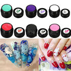 New 3D UV Sculpture Gel Colour Modelling Nail Art Tips Creative Manicure Deco