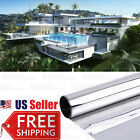 One Way Mirror Privacy Reflection Window Tint Film STOP HEAT! Energy Save Solar