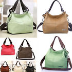 Women Fashion Lady Leather Style Messenger Handbag Shoulder Bag Purse Hobo Tote