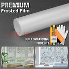 *Frosted Glass Film Home Bedroom Bathroom Office Window Privacy Sticker Decal