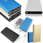 Universal 100000mah Portable Dual USB LCD Power Bank Battery Charger For Phones