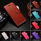 Luxury Leather Magnetic Flip Wallet Stand Case Cover For Samsung Galaxy Phone #1