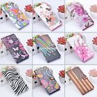 Leather Flip Wallet Case Cover Skin For 4.7'' Apple iPhone 6 Plus 5.5'' Stand EN