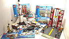 LEGO CITY LOT 3 SETS SPACE CENTER 3368 NASA SHUTTLE 3367 ASTRONAUT MINIFIGURE VG