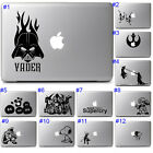 Star Wars Video Games Sticker Vinyl Decal Graphics Apple Macbook Air Pro Laptop $13.03 CAD