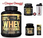 100% whey professional Gold's Nutrition Kg 1,8 - iso proteine magre siero latte