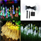 30 LED Waterproof String Lights Water Drops Decorating Patio/Garden/Yard/Holiday