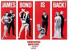 Home Wall Art Print - Vintage Movie Poster - FROM RUSSIA WITH LOVE - A4,A3,A2,A1 £10.99 GBP