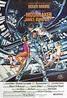 Home Wall Print - Vintage Movie Film Poster - MOONRAKER JAMES BOND - A4,A3,A2,A1 £11.99 GBP on eBay