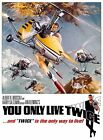 Home Wall Print - Movie Film Poster - YOU ONLY LIVE TWICE-JAMES BOND-A4,A3,A2,A1 £19.99 GBP on eBay