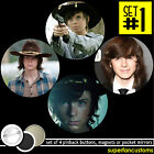 Chandler Riggs SET OF 4 BUTTONS or MAGNETS or MIRRORS the walking dead pin #1396