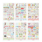 NT Album Scrapbook Calendar Diary Planner Card Photo Letter Stickers Decoration