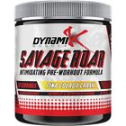 Dynamik Muscle SAVAGE ROAR Kai Green Pre Workout Crazy Energy Focus Pump 30 serv