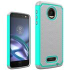 For Motorola Moto Z, Moto Z Droid Case Tough Protective Hybrid Armor Phone Cover