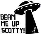 Beam My Up Scotty Cool Funny Car Truck Window Vinyl Decal Sticker 12 Colors