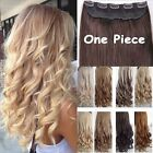 Kyпить Real Thick 1pcs Clip in 3/4 Full Head Hair Extensions Extension as human hair f7 на еВаy.соm