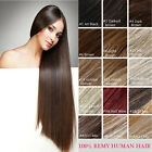 Tengda 30inch Human Hair Extensions Clips in Straight 120g 140g 160g 180g 200g
