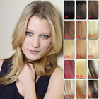 """Tengda 18"""" Clip In 100% Real Human Hair Extensions Full Head 70g 100g 16clips"""