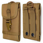Universal Molle Army Tactical Cell Phone Smartphone Waist Pouch Bag Case Cover