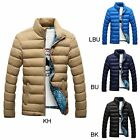 Men's New Fashion Duck Down Jacket Slim Casual Overcoats Warm Winter Plus Size