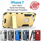 iPhone 7 Iron Armor Phone Case Cover Kickstand Shockproof Rugged Tradesman Tough