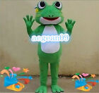 Frog Sea Creature Mascot Costume fancy dress Customade Any color/size