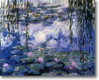 HUGE Monet Water Lilies Nympheas Stretched Canvas Giclee Art Repro ALL SIZES