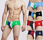 New Mens Low Rise Sexy Hot Swimwear Boxer Brief Swimsuit Size M,L,XL # QT30