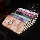 Ultra Thin Luxury Marble Ring Kickstand Case Cover For iphone 6 6S Plus Fashion