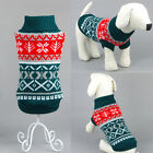 Pet Dog Puppy Cat Warm Sweater Clothes Knit Coat Jacket Winter Apparel Costumes