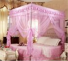 Pink Princess Bedding Canopy Mosquito Netting Or Frame Twin Full Queen King