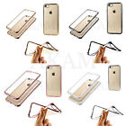 Soft Silicon Clear Gel Back Plating Jelly Ultra Thin TPU Case Cover iPhone 7