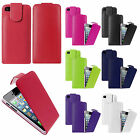 PU Leather Top Magnetic Flip Pouch Protective Case Cover For iPhone 5S 5G 5