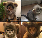 Внешний вид - New Pet Dog Hat Costume Lion Mane Wig For Cat Halloween Dress Up With Ears