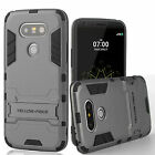 Newest Slim Hybrid Impact Rugged Bumper Hard Stand Case Cover for LG G4 G5