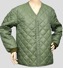 """Belgian Army Quilted Thermal Cold Weather Jacket Liner Riding Country Small 36"""""""