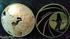 JAMES BOND 007 COMMEMORATIVE GOLD COIN Daniel Craig Signature Spectre Skyfall