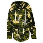 17313 YAKUZA JB-8043 Herren Colombian Military Jacket Jacke camouflage yellow