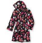 Joe Boxer Plush Smiley Face Hooded Robe Women's size 1X New w/Tag