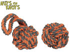 HAPPY PETS NUTS FOR KNOTS TOUGH STRONG EXTREME BALL OR TUGGER FOR LARGE DOGS HM