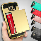 Wallet Two Cards Holder Pocket Silicone Case for Samsung Galaxy S6 /S6edge /Plus