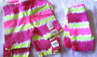 NEW Girl's Size 2T& 3T Bright Tropical Print Bike Shorts by Jumping Beans - NWT