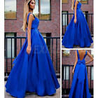 Fashion Women's Sexy Sleeveless Casual Party Evening Cocktail Long Dress